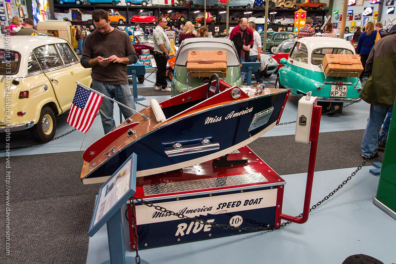 Miss America Speed Boat Ride Coin-operated Machine
