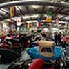 360 degree panorama of the Microcar Museum