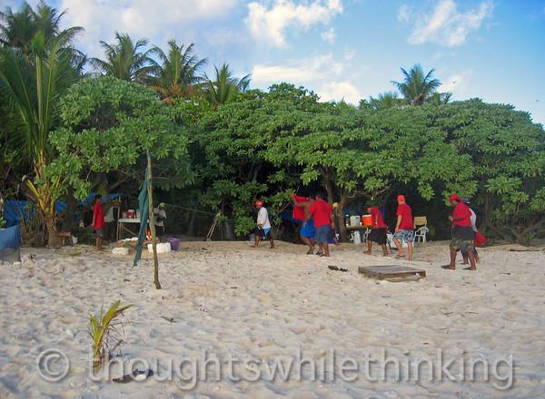 Micronesia 2007 : Gielop Island green sea turtle monitoring project camp, Ulithi Atoll IMG_1497.JPG