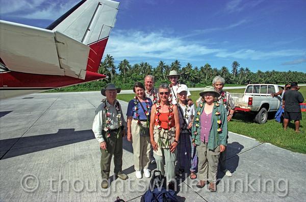 Micronesia 2007 : arrival at Falalop Island, Ulithi Atoll IMG174