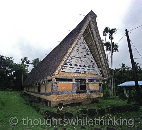 Micronesia 2007 : Palau men's house IMG121