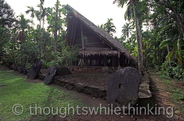 Micronesia 2007 : Yap men's house IMG169