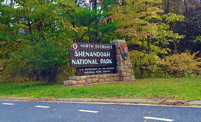 Shenandoah National Park; Skyline Drive  Copyright 2012 Neil Stahl