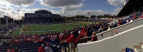 US Naval Acadamy  Navy Marine Corps Memorial Stadium  Copyright 2012 Neil Stahl