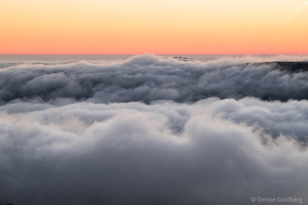 a sea of clouds