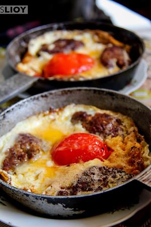 Lunch in Sheki.<br /> <br /> Sheki, Azerbaijan