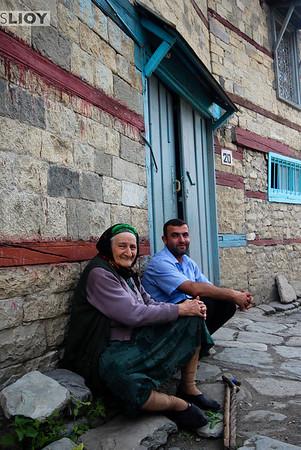 Family portrait.<br /> <br /> Lahic, Azerbaijan