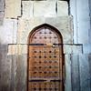 Old door in Baku's Old Town.<br /> <br /> Baku, Azerbaijan