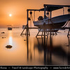 Middle East - GCC - Bahrain - Askar Beach - Asker Beach & Hanging Boat - Sunrise