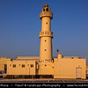Middle East - GCC - Bahrain - Askar Beach - Asker Beach - Traditional mosque at Sunrise