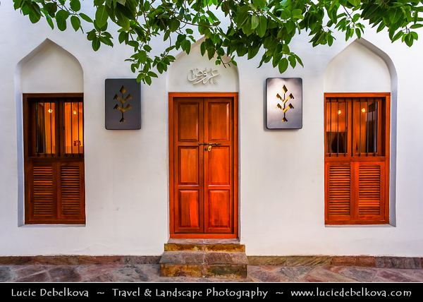 Middle East - GCC - Bahrain - Muharraq Town - Old capital of Bahrain - Traditional Bahraini architecture