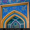 Middle East - GCC - Bahrain - Manama - Beautifully decorated traditional Shia Mosque in Heart of Old Manama