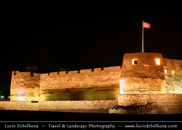 Middle East - GCC - Bahrain - Muharraq Town - Old capital of Bahrain - Arad Fort - 15th century fort, one of most important historic monuments on Muharraq Island
