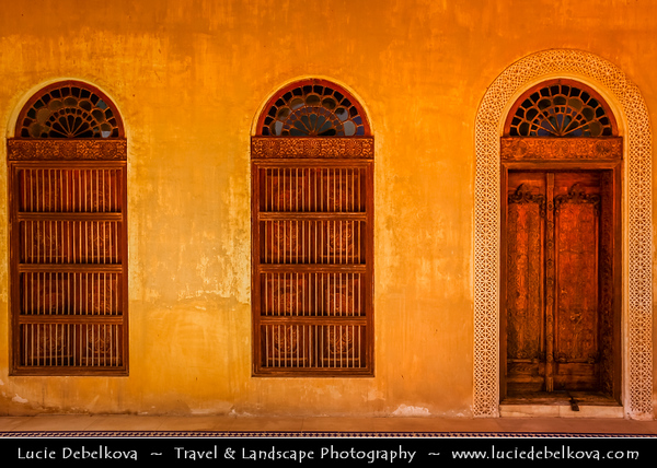 Middle East - GCC - Bahrain - Al Jasra -  Bait Al-Jasra historic house - Al Jasrah House - Fine Example of Traditional Bahraini Architecture