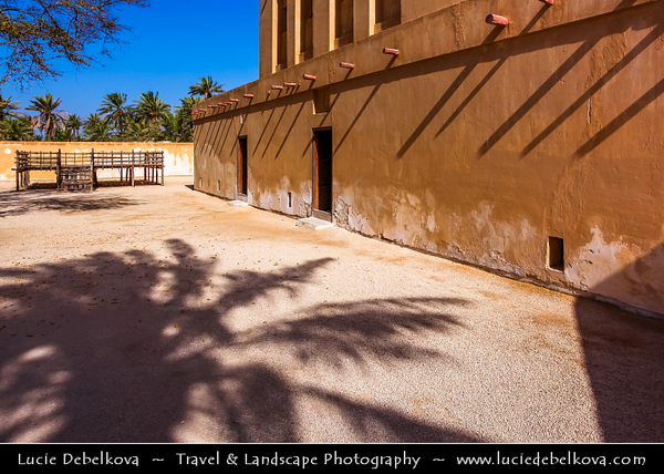 Middle East - GCC - Bahrain - Al Jasra -  Bait Al-Jasra historic house - Al Jasrah House - Fine Example of Traditional Bahraini Architecture