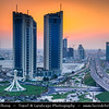 Middle East - GCC - Bahrain - Manama - Bahrain Financial Harbor - BFH - Large-scale commercial development project, located next to King Faisal Highway - Pearl Roundabout - Popular Bahraini landmark
