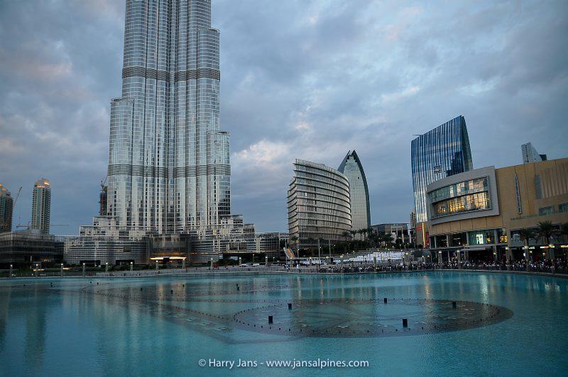 Burj Khalifa, 828m (highest building )