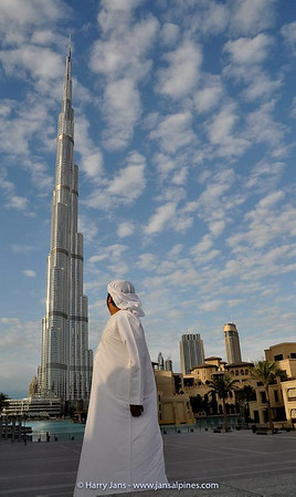 Burj Khalifa, 828m (highest building )