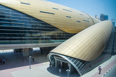 Metro Stations in Dubai