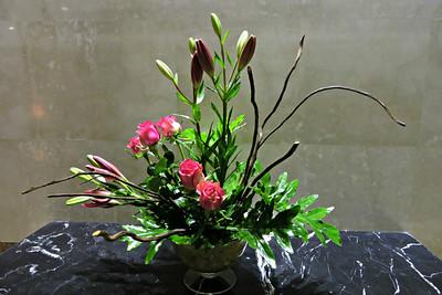 Flowers in the Kempinsky Royal Maxim Palace