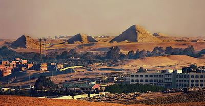 Saqara Pyramids