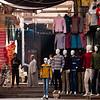 Street scene from the Old Souk in Aswan, Egypt.