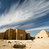 The temple and pyramid of Saqqara, Egypt.