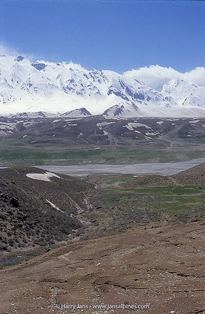 Zagros Mountains, Zhard Kuh (4510m)