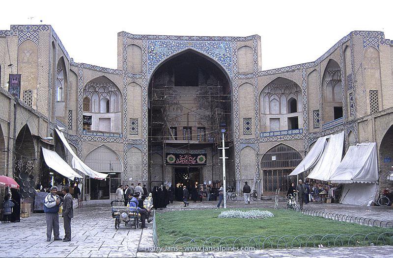 entrance Bazar e Bozorg at Iman Square