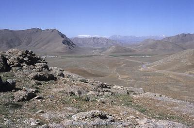 view towards Zagros Mountains