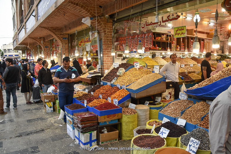 shops selling nuts and dried fruit