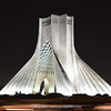 Azadi tower (1971) in Tehran, celebrate the 2500th anniversary Persian Empire, 45m height
