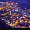 Middle East - Iran - Razavi Khorasan Province - Northeast part of Iran - Mashhad Surrounding - Kang - Ancient mountain village with cluster of houses built on top of each other, with one house roof being another house floor