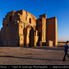 Middle East - Iran - Razavi Khorasan Province - Northeast part of Iran - Mashhad Surrounding - Torogh Robat - Torogh Ribat - Rabat Torogh - Small Caravanserai - Ancient place of rest for caravans - Roadside Inn for travelers on Silk Road trade routes - Caravansary, caravansaray, caravanseray, caravansara
