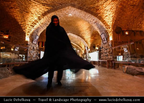 Middle East - Iran - Razavi Khorasan Province - Northeast part of Iran - Mashhad Surrounding - Robat-e Virani Museum - Virani Caravanserai - Mashhad Anthropology Museum