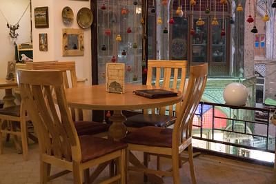 Cafe in the Kashan Bazaar