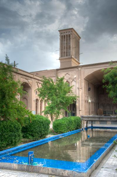 Courtyard of Khan-e Lari