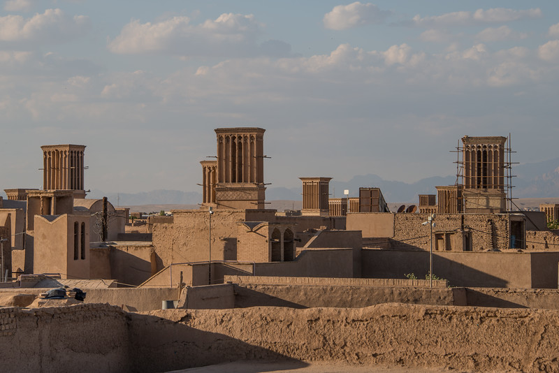 View from the top over Yazd