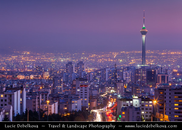 Middle East - Iran - Tehran - Capital of Iran - Tehran Cityscape