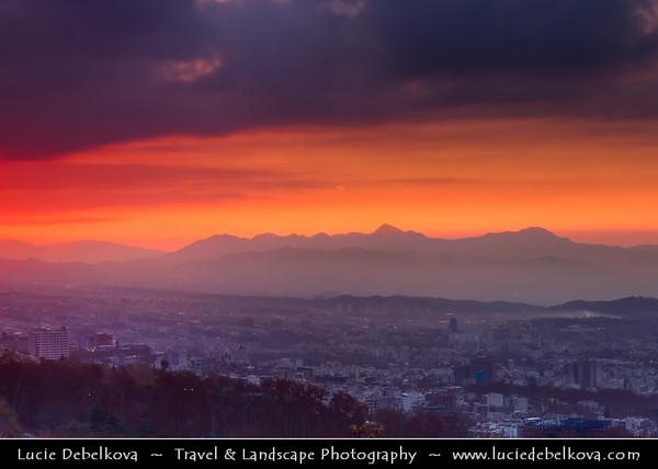 Middle East - Iran - Tehran - Capital of Iran - Early Morning Su
