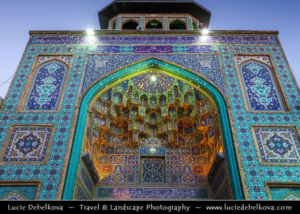 Middle East - Iran - Fars Province - Shiraz - City of poets - City of gardens - Shah Cheragh Mosque - Shāh Chérāgh - Funerary monument and mosque