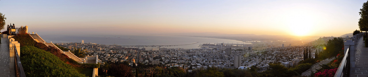 Haifa wakes up.
