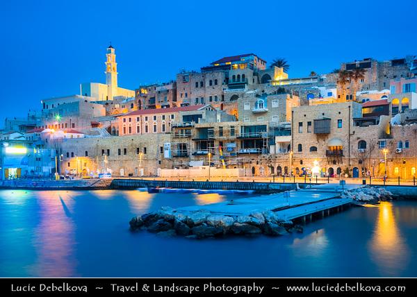 Israel - Tel Aviv - תֵּל־אָבִיב - City located on Israeli shores of the Mediterranean Sea coastline in central-west Israel - Jaffa - Ancient Port City