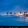 Israel - Tel Aviv - תֵּל־אָבִיב - City located on Israeli shores of the Mediterranean Sea coastline in central-west Israel - Jaffa - Ancient Port City