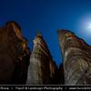 Israel - Eilat - Timna National Park - Beautiful natural desert setting offering incredible views of mountain terrain - Shlomo columns - Pillars of Soloman - Very beautiful and unusual rock formations