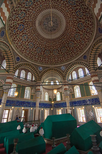 Dome of mausoleum of Mehmet III.