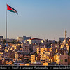 Middle East - Jordan - Hashemite Arab Kingdom of Jordan - Amman - Capital & largest city of Jordan - One of oldest continuously inhabited cities in world