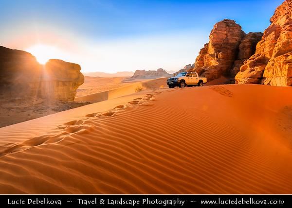 Jordan - Hashemite Arab Kingdom of Jordan - Wadi Rum - UNESCO Wo