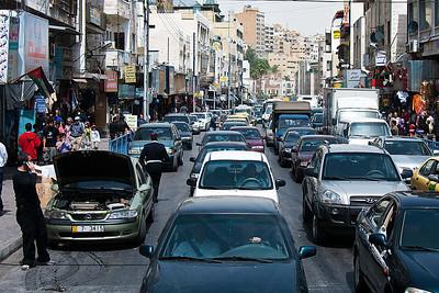 Amman traffic jam