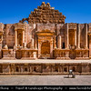 Middle East - Jordan - Hashemite Arab Kingdom of Jordan - Jerash - Old Roman City - Gerasa of Antiquity - Antioch on the Golden River - Ruins of the Greco-Roman City - One of the largest & most well-preserved sites of Roman architecture in the world
